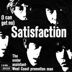The Rolling Stones : Satisfaction - Denmark / UK 1970