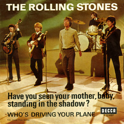 The Rolling Stones : Have You Seen Your Mother, Baby, Standing In The Shadow ? - Denmark / UK 1966