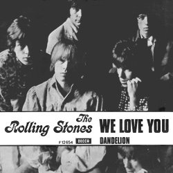The Rolling Stones : We Love You - Denmark / UK 1967