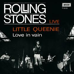 The Rolling Stones : Little Queenie - Denmark / UK 1971