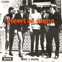 The Rolling Stones : Heart Of Stone - Denmark / UK 1965