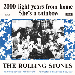 The Rolling Stones : 2000 Light Years From Home - Denmark / UK 1967