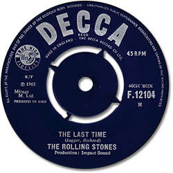 The Rolling Stones : The Last Time - Ireland 1965