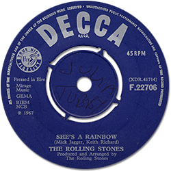 The Rolling Stones : She's A Rainbow - Ireland 1967