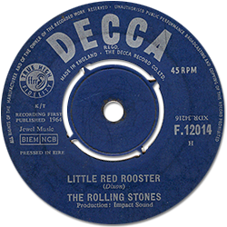 The Rolling Stones : Little Red Rooster - Ireland 1964