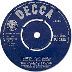 The Rolling Stones : Jumpin' Jack Flash - Ireland 1968