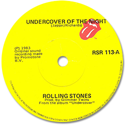The Rolling Stones : Undercover (Of The Night) - Ireland 1983