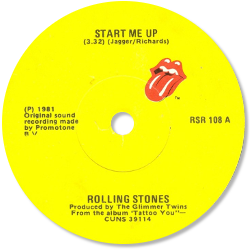 The Rolling Stones : Start Me Up - Ireland 1981