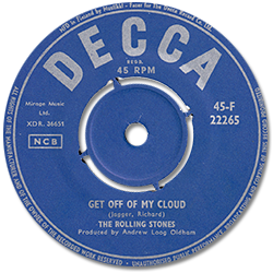 The Rolling Stones : Get Off Of My Cloud - Finland 1965