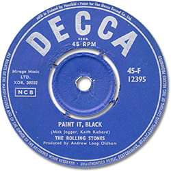 The Rolling Stones : Paint It, Black - Finland 1966