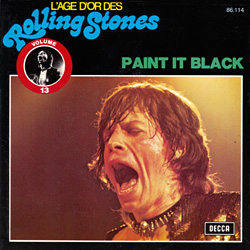The Rolling Stones : Paint It, Black - Belgium 1973