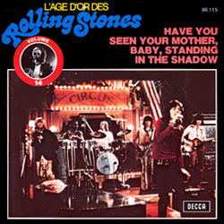 The Rolling Stones : Have You Seen Your Mother, Baby, Standing In The Shadow ? - Belgium 1973