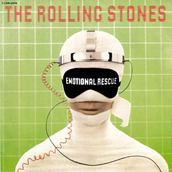 The Rolling Stones : Emotional Rescue - France 1980