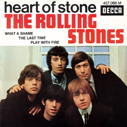 The Rolling Stones : Heart Of Stone - France 1965
