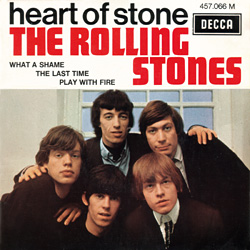 The Rolling Stones : Heart Of Stone - France 1970
