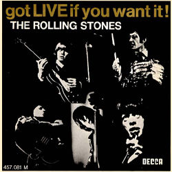 The Rolling Stones : Got Live If You Want It! - France 1970