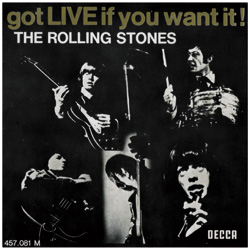 The Rolling Stones : Got Live If You Want It! - France 1971