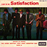 """The Rolling Stones : Satisfaction, 7"""" EP from France - 1967"""