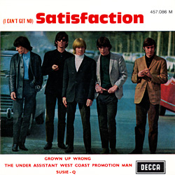 The Rolling Stones : Satisfaction - France 1968