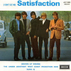 The Rolling Stones : Satisfaction - France 1971
