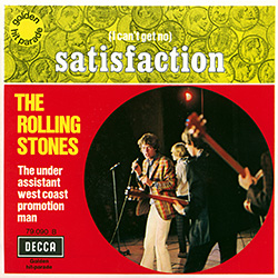 The Rolling Stones : Satisfaction - France / Belgium 1970