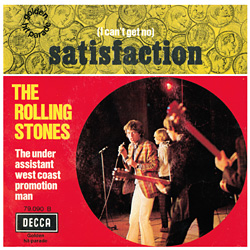 The Rolling Stones : Satisfaction - France 1970