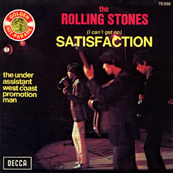 The Rolling Stones : Satisfaction - France / Belgium 1971