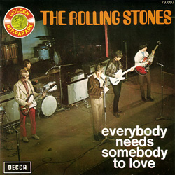 The Rolling Stones : Everybody Needs Somebody To Love - France 1971