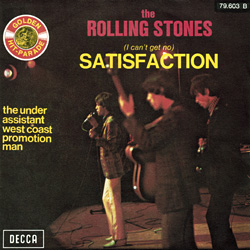 The Rolling Stones : Satisfaction - France 1972