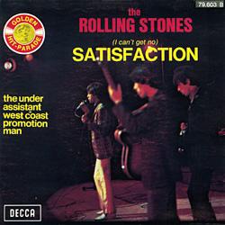 The Rolling Stones : Satisfaction - France / Belgium 1972