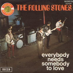 The Rolling Stones : Everybody Needs Somebody To Love - France 1972