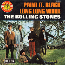 The Rolling Stones : Paint It, Black - France 1973