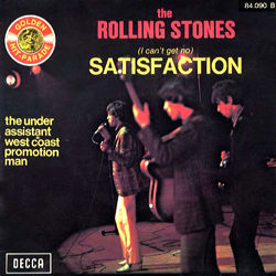 The Rolling Stones : Satisfaction - France 1973
