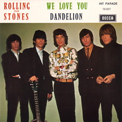 The Rolling Stones : We Love You - France 1967