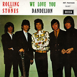 The Rolling Stones : We Love You - France 1969
