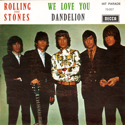 The Rolling Stones : We Love You - France 1971