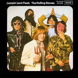 The Rolling Stones : Jumpin' Jack Flash - France 1968