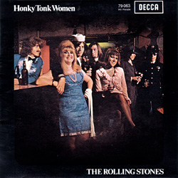 The Rolling Stones : Honky Tonk Women - France 1969