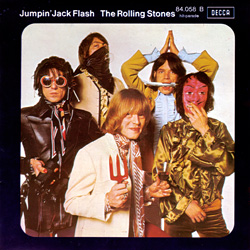 The Rolling Stones : Jumpin' Jack Flash - France 1972