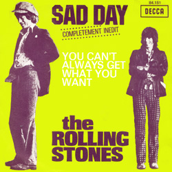 The Rolling Stones : Sad Day - France 1973