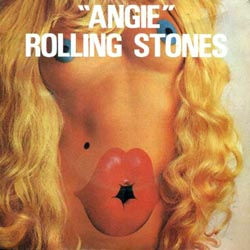The Rolling Stones : Angie - France 1973