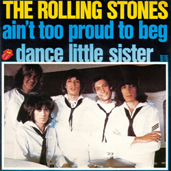The Rolling Stones : Ain't Too Proud To Beg - France 1974