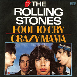 The Rolling Stones : Fool To Cry - France 1976