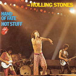"The Rolling Stones - Hot Stuff - RSR RS 19123 France 7"" PS"