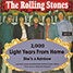 "The Rolling Stones : 2000 Light Years From Home, 7"" single from Germany - 2016"