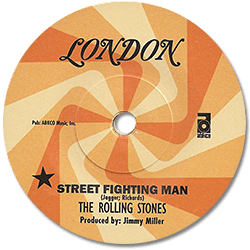 "The Rolling Stones - Street Fighting Man - Abkco 018771835617 Germany 7"" PS"