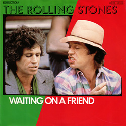 The Rolling Stones : Waiting On A Friend - Germany 1981