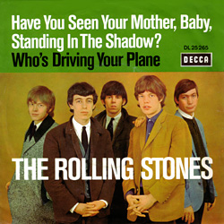 The Rolling Stones : Have You Seen Your Mother, Baby, Standing In The Shadow ? - Germany 1966