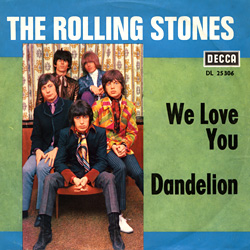 The Rolling Stones : We Love You - Germany 1967