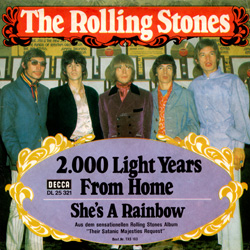 The Rolling Stones : 2000 Light Years From Home - Germany 1967